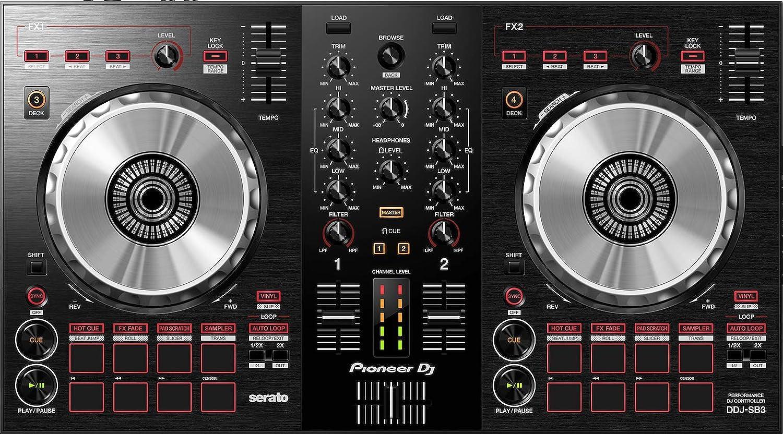 front facing Pioneer DJ SB3