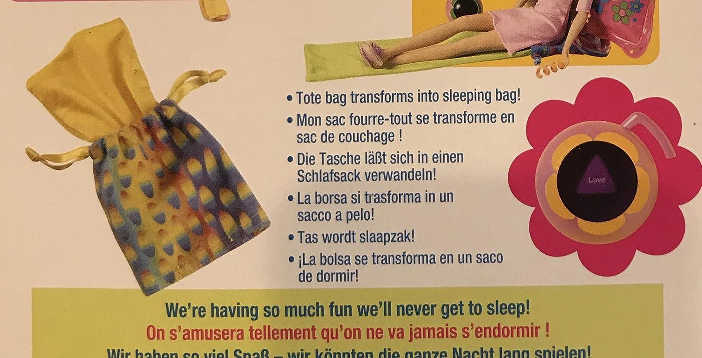 Amazon.com: Barbie Teen Slumber Party Doll (Like Pajamas Fun) with Magic Date Ball & Lots More (1999 Multi-Lingual Box): Toys & Games