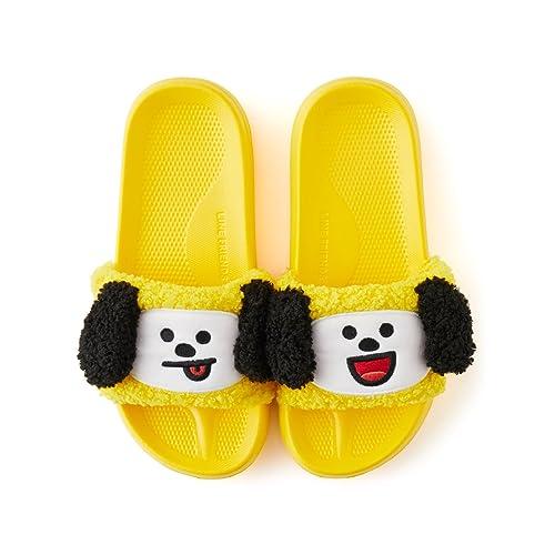 c483b8f52b49 BT21 Women s Chimmy Boucle Slipper US 8 One Size Yellow  Amazon.ca ...