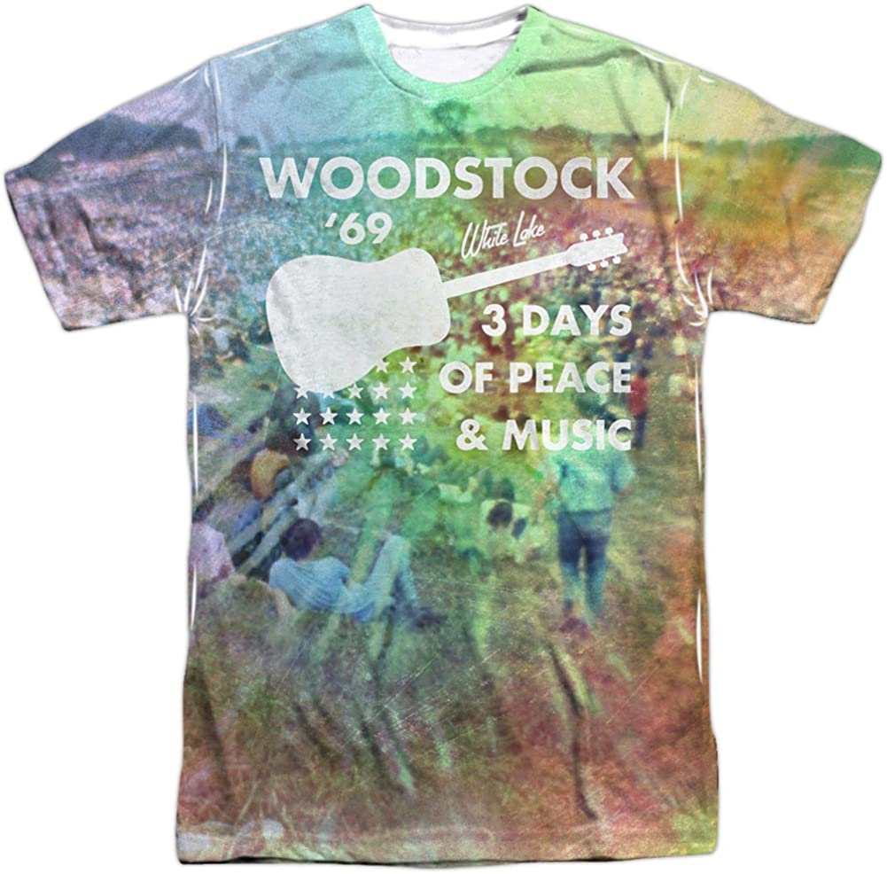 Woodstock White Lake Crowd Toddler T-Shirt