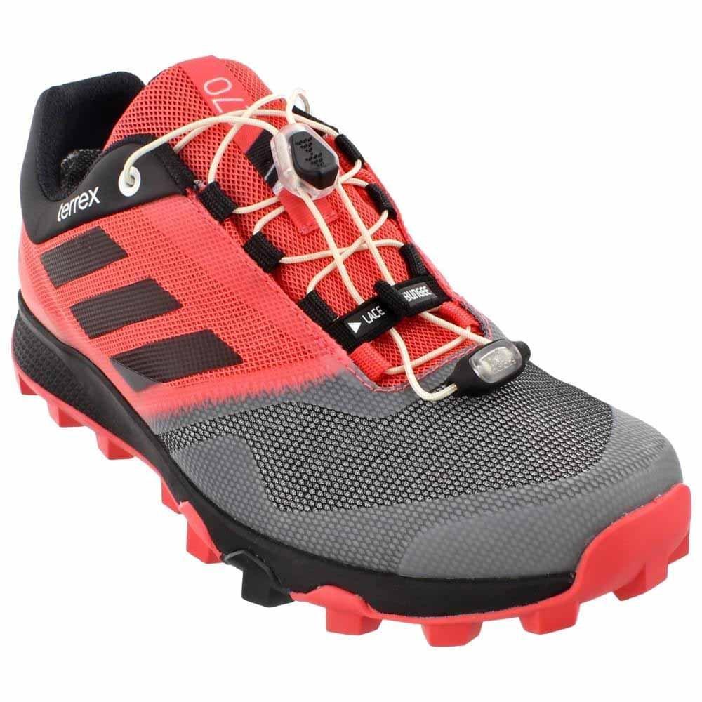 adidas Terrex Trailmaker GTX Womens Running Shoe 9.5 Super Blush-Black-White