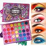 Eyeseek Colorful Eyeshadow Palette 35 Colors High Pigmented Makeup Palette Matte And Shimmer Glitter Eyeshadow Waterproof Lon