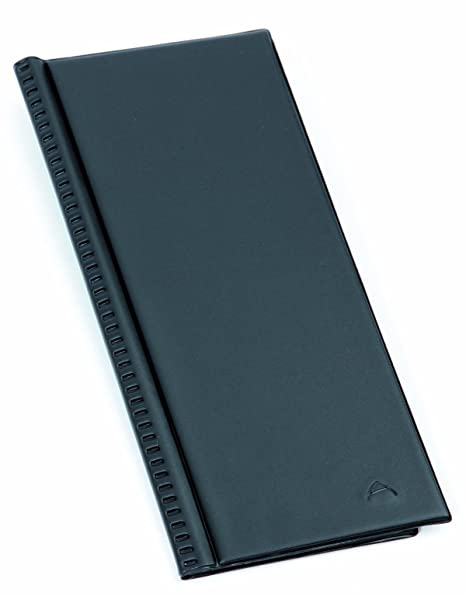 Alba CLASS80 Porte Cartes De Visite PVC Capacit 80 Noir