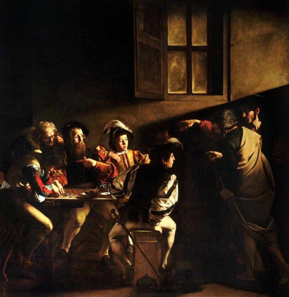 The Calling of Saint Matthew – 傑作クラシックアーティスト: Caravaggio – C。1599 Canvas Tote Bag LANT-69545-TT B07B29Y78P  24 x 36 Signed Art Print 24 x 36 Signed Art Print