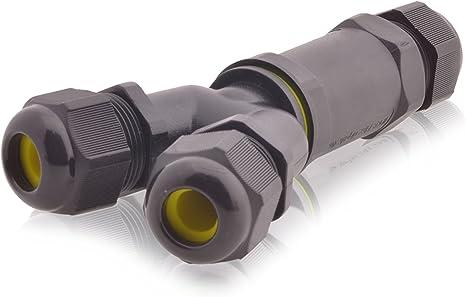 Kabelverbinder Y-Stück Wasserdicht Verbindungsdose Kabelverbindungsmuffen IP68