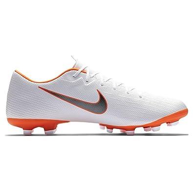 b338a1adb4 Amazon.com   Nike Mercurial Vapor 12 Academy MG (White/Total Orange) (Men's  8.5/Women's 10)   Soccer