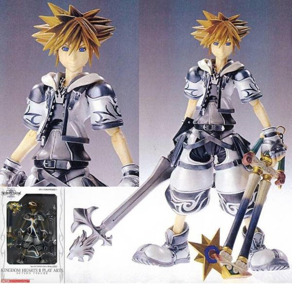 KINGDOM HEARTS II PLAY ARTS Sora Final Form (non-scale PVC painted action figure) (japan import)