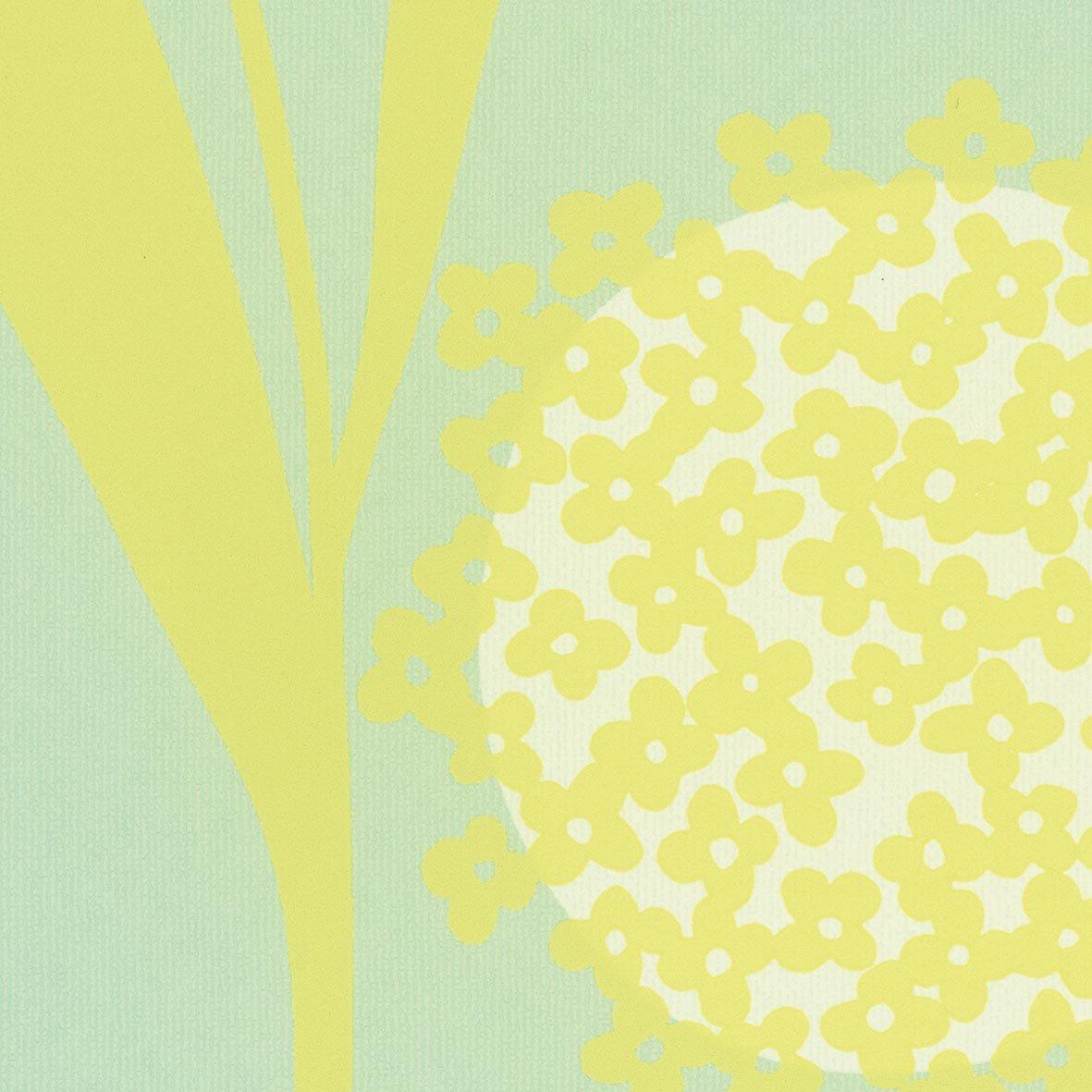 リリカラ 壁紙21m 北欧 花柄 グリーン Casual LW-2823 B07613F2WN 21m|グリーン
