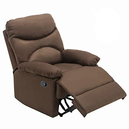 Superieur Mecor Microfiber Recliner Massage Chair, Heated Vibrating Sofa Ergonomic  Lounge 8 Point Massage With Remote