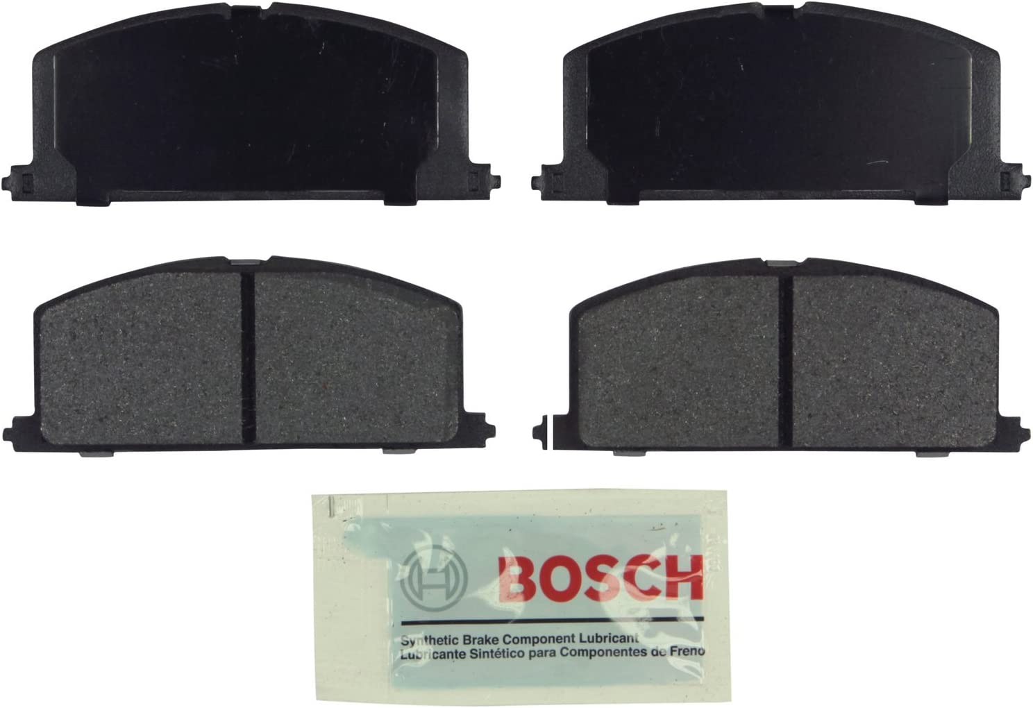 Front Blue Disc Brake Pads Bosch BE242 for Toyota Celica Camry Tercel Corolla