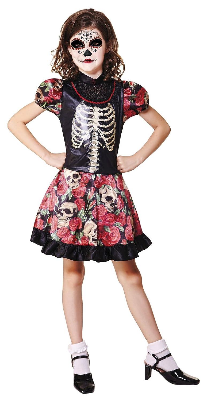 My Other Me Me-202254 Disfraz de Día de los Muertos para niña, 3-4 ...