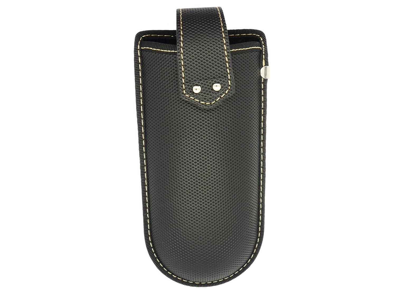 Belt Clip Glasses Case With Strap Black