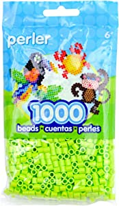 Perler Beads Fuse Beads for Crafts, 1000pcs, Pear Green