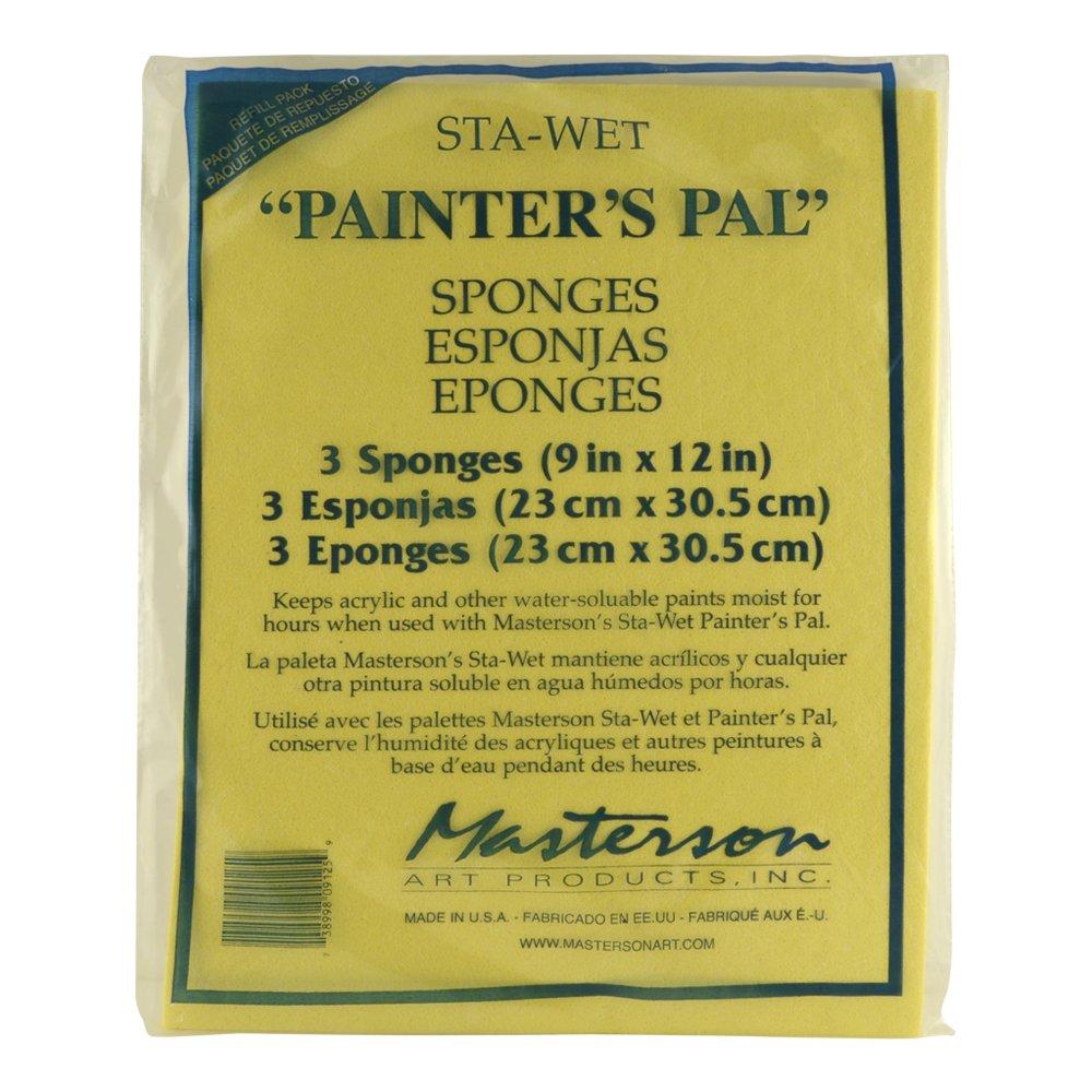 Masterson Sta Wet Palette Sponge Refills Painter' s Pal Palette Sponge Marshalltownson