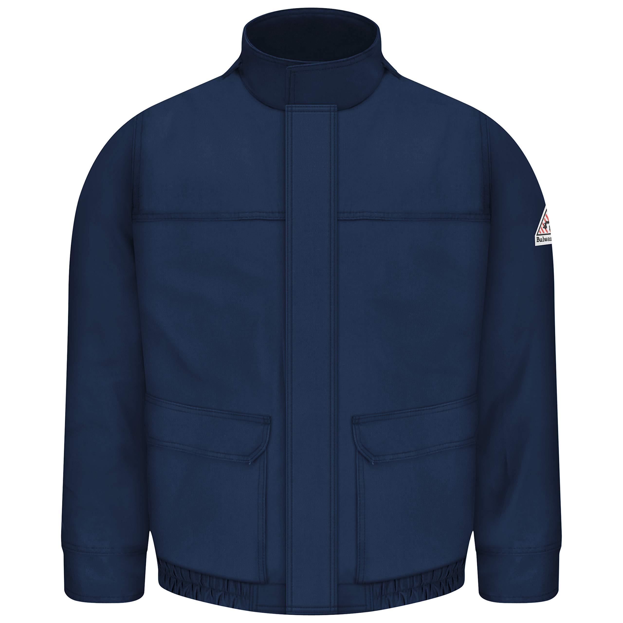 Bulwark Flame Resistant 7 oz Twill Cotton/Nylon ComforTouch Bomber Jacket