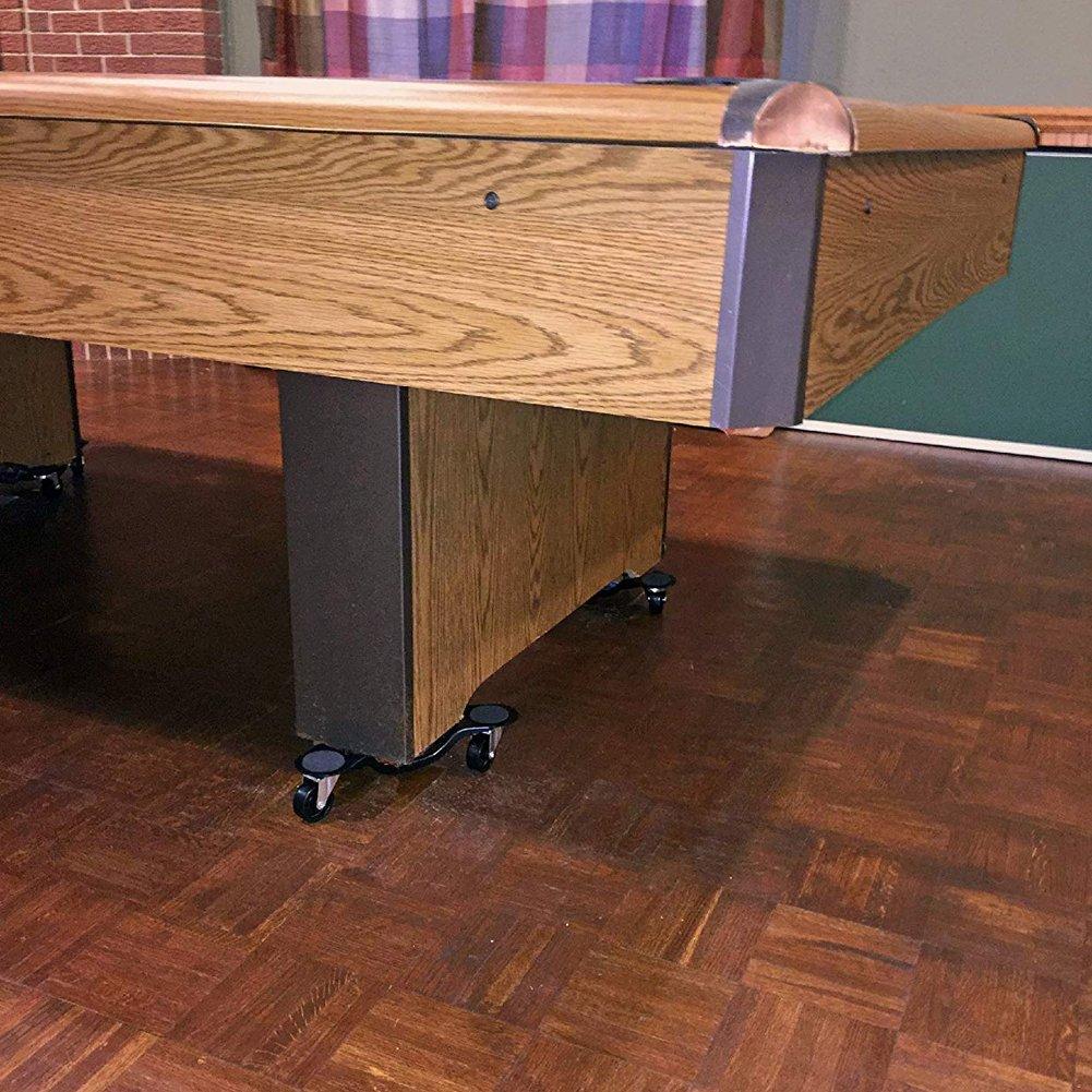 Byjia Movers Furniture Dolly, 3 Ruedas Steel Tri-Dolly, para Aplicaciones Móviles Dollies Tool 6 Pulgadas,4Pcs: Amazon.es: Hogar