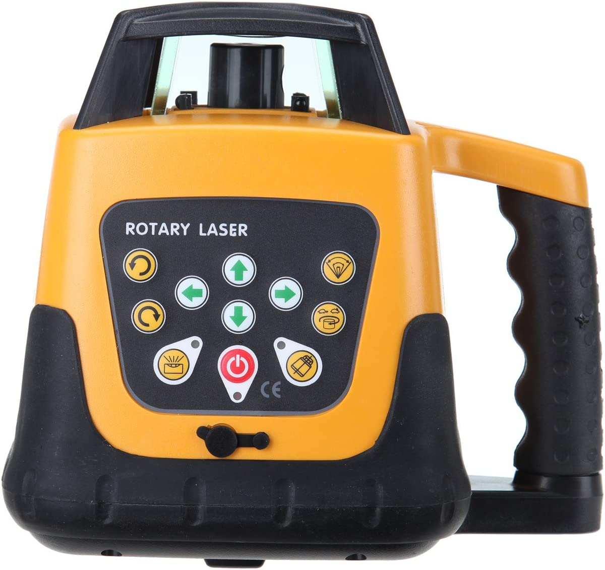 Ridgeyard nivel laser 500 m gama autom/ática ajustable autonivelante medici/ón rotativo l/áser nivel m/áquina de rayo verde