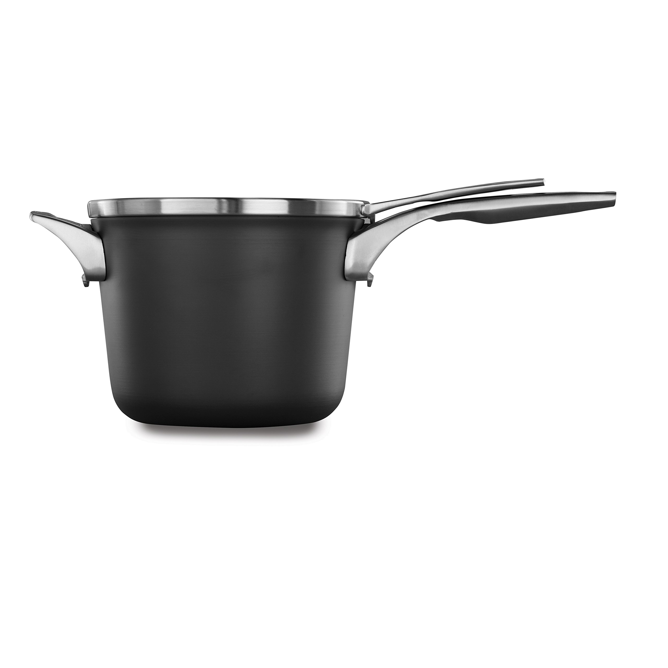 Calphalon Premier Space Saving Nonstick 4.5qt Sauce Pan with Cover