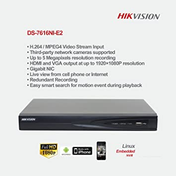 Driver for Hikvision DS-7600NI-E2 Network Camera