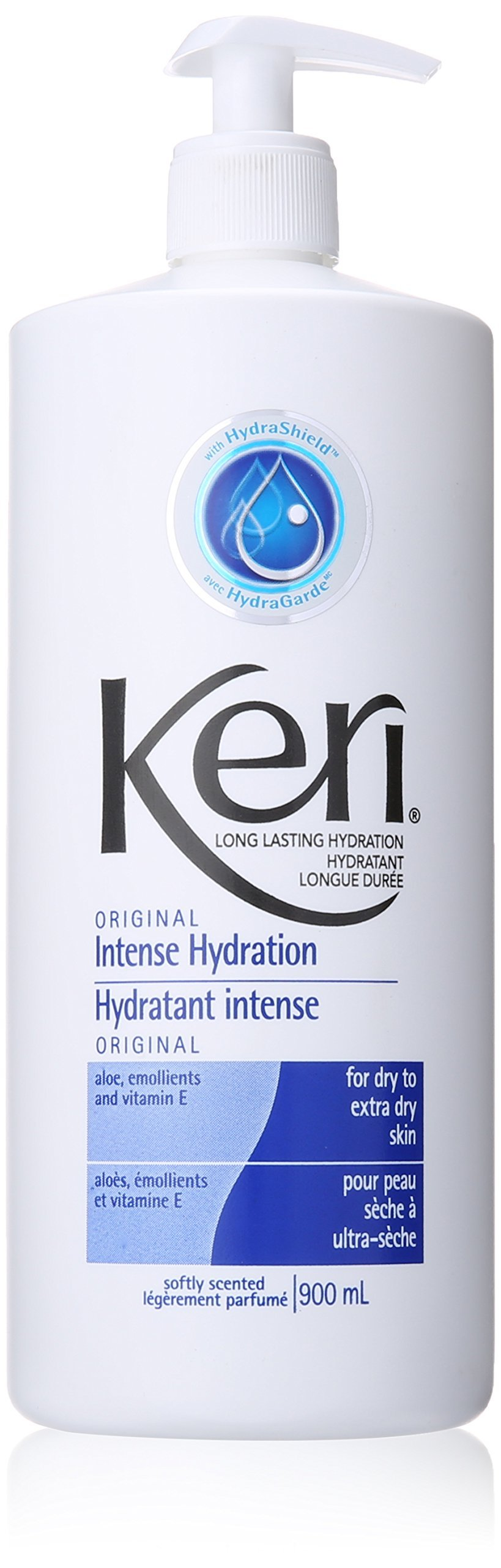 Keri Lotion Original Intense Hydration Softly Scented 900 ML 2 Piece