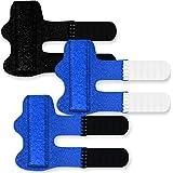 3 Pack Finger Splint, Adjustable Trigger Finger Splint Brace, Finger Brace Thumb Splint, Pain Relief for Straightening Trigge