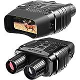 Rexing B1 Night Vision Goggles Binoculars with LCD Screen, Infrared (IR) Digital Camera, Dual Photo + Video Recording…