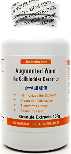 Augmented Warm The Gallbladder Decoction Extract Powder Tea 180g Jia Wei Wen Dan Tang Ready-to-Drink 100 Natural Herbs.