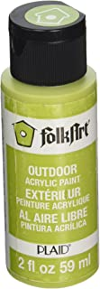 product image for FolkArt Outdoor Acrylic Paint in Assorted Colors (2 Ounce), 2471 Yellow Citron