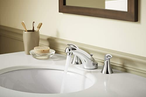 KOHLER K-2210-0 Caxton Under-Mount Bathroom Sink, White