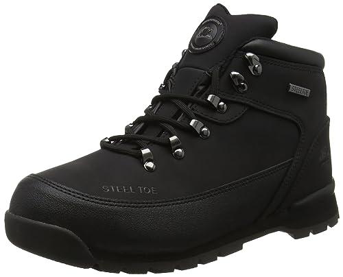 Groundwork GR66, Zapatos de Seguridad Unisex, Negro, 43 EU (9 UK)