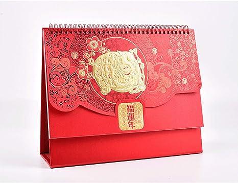 Anno Calendario Cinese.Aus Aola 2019 Cinesi Calendario Calendario Da Tavolo