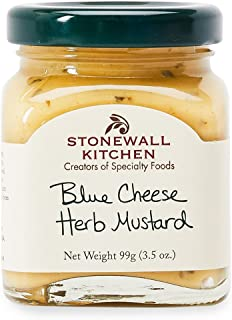 product image for Stonewall Kitchen Blue Cheese Herb Mustard, 3.5 Ounces