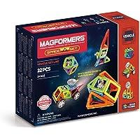 Magformers - Space Wow, Set de 22 Piezas