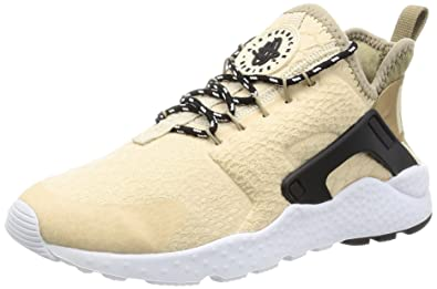 separation shoes 54e6c 4d4ed Nike Womens Air Huarache Run Ultra Low Top Lace Up Running, Beige, Size 10.0