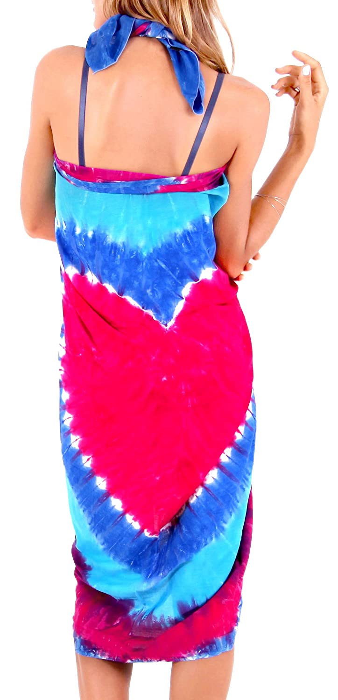 c203070c07c6c La Leela Sarong Bathing Suit Pareo Wrap Bikini Cover ups Womens Skirt  Swimsuit Swimwear