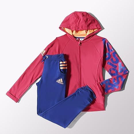 Adidas Chándal para niña Rock It, Infantil, VIVBER/FLAORA: Amazon ...