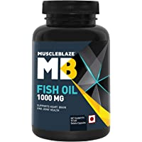 MuscleBlaze Omega 3 Fish Oil -1000 mg