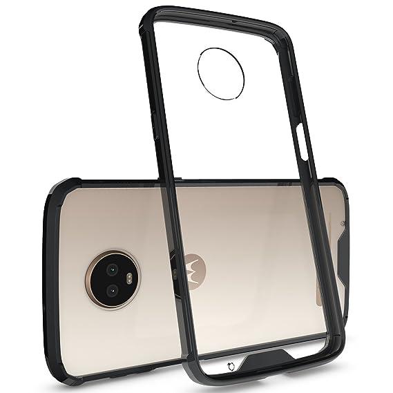 huge discount 9e543 9ede2 Amazon.com: Moto Z3 Play Bumper Case, Moto Z3 Play Transparent Case ...