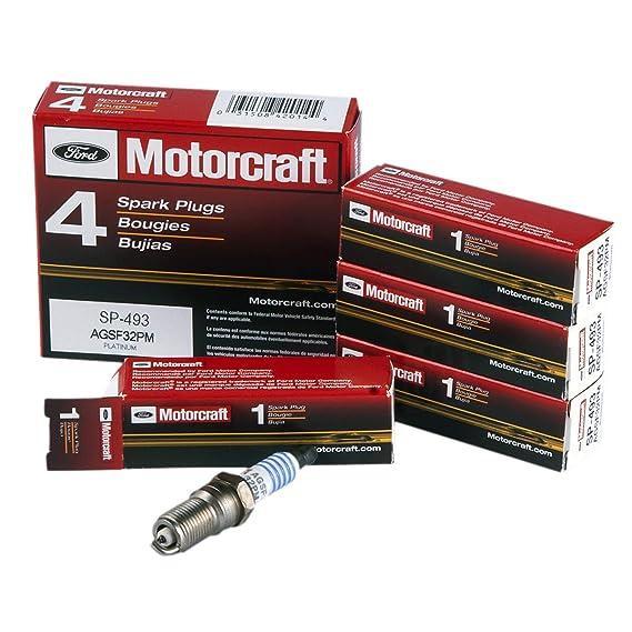 Amazon.com: MAS Ignition Coil DG508 Set of 8 & New Motorcraft Spark Plug SP493: Automotive