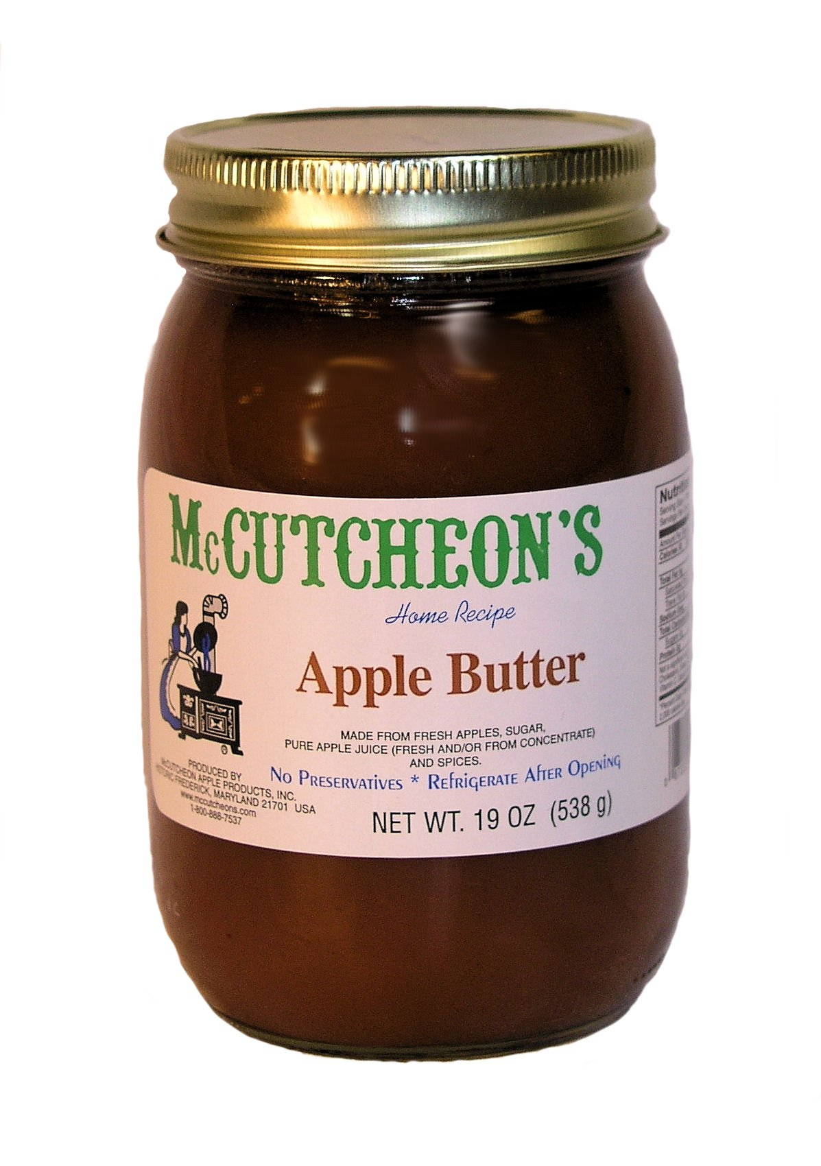 Mc Cutcheon's Old Fashioned Apple Butter, 19 Oz