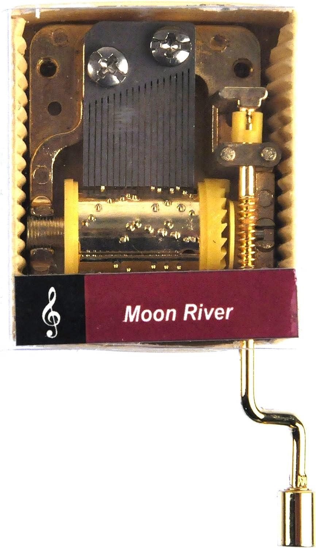 Caja de música de manivela: Moon River - Henry Mancini: Amazon.es: Hogar