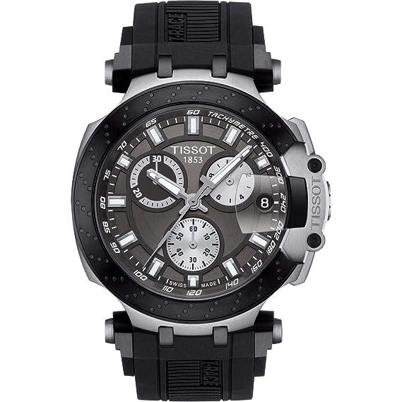 Tissot T-Race T115.417.27.061.00 Cronógrafo para Hombres: Amazon.es: Relojes