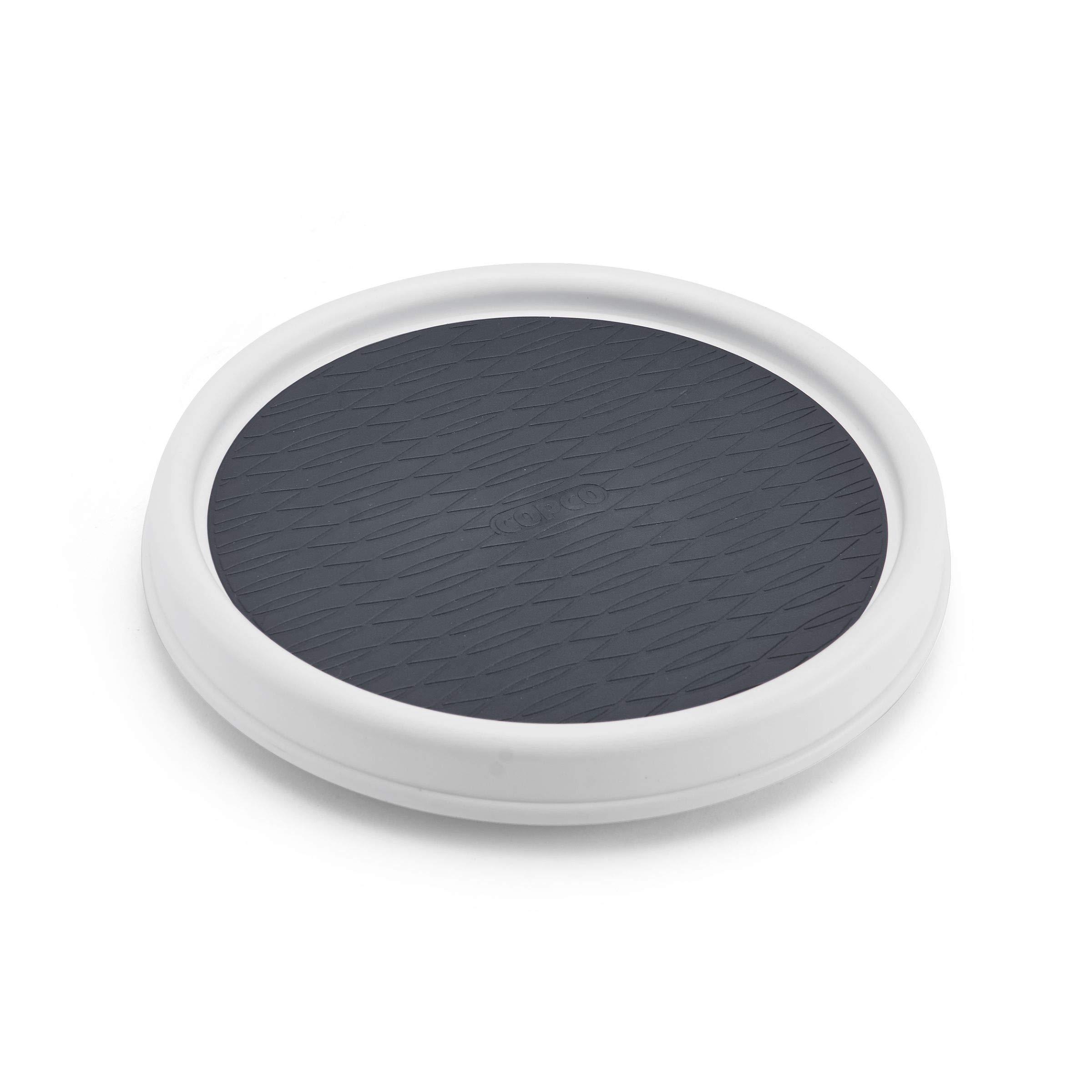 Copco Non-Skid Pantry Cabinet, 9-Inch, White/Gray