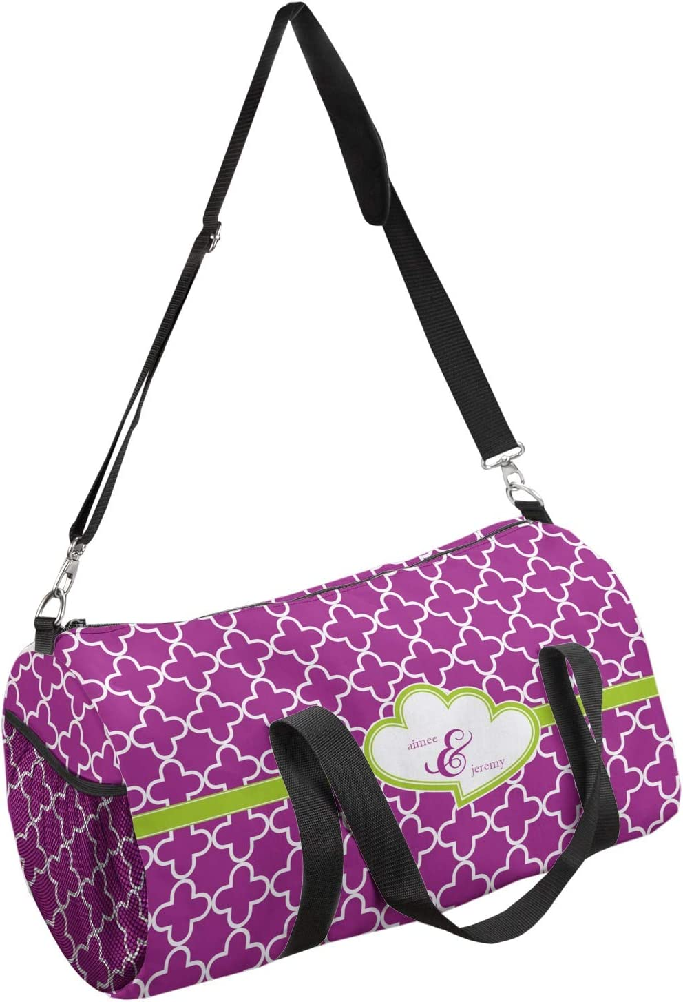 YouCustomizeIt Clover Duffel Bag Personalized