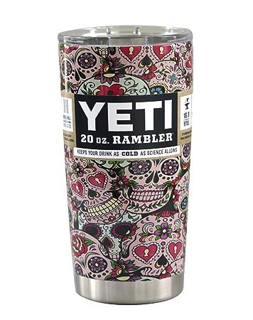 Yeti Oz Rambler Hydro Dipped Sugar Skulls Amazoncom Grocery - Sugar skull yeti cup