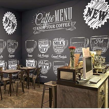 Knncch Mural 3D Personalizado Bar Café Papel Tapiz 3D Ktv ...
