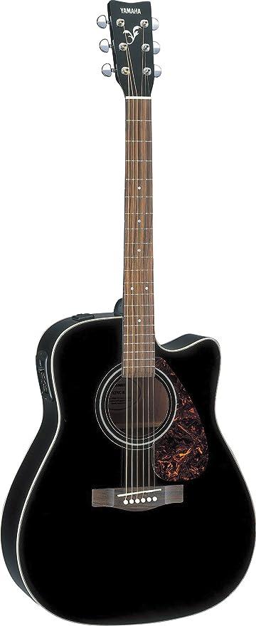 Guitarra Acústica Yamaha FX370CBL color negro