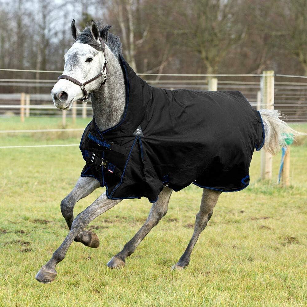 Bucas Horse Blanket Rain Blanket outdoordecke Irish Turnout Light 50g Black//Gold