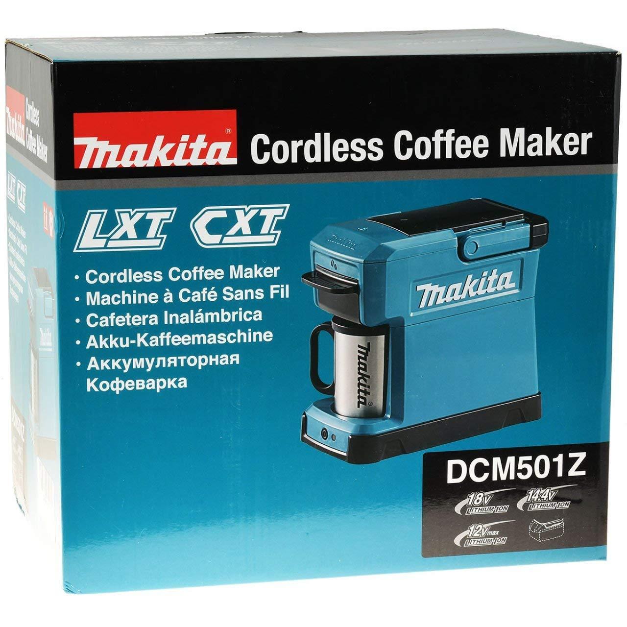 Acquisto akku-net Makita DCM501Z – Caffettiera a Batteria da 18 V (Senza Batteria, Senza Caricatore) Prezzi offerta