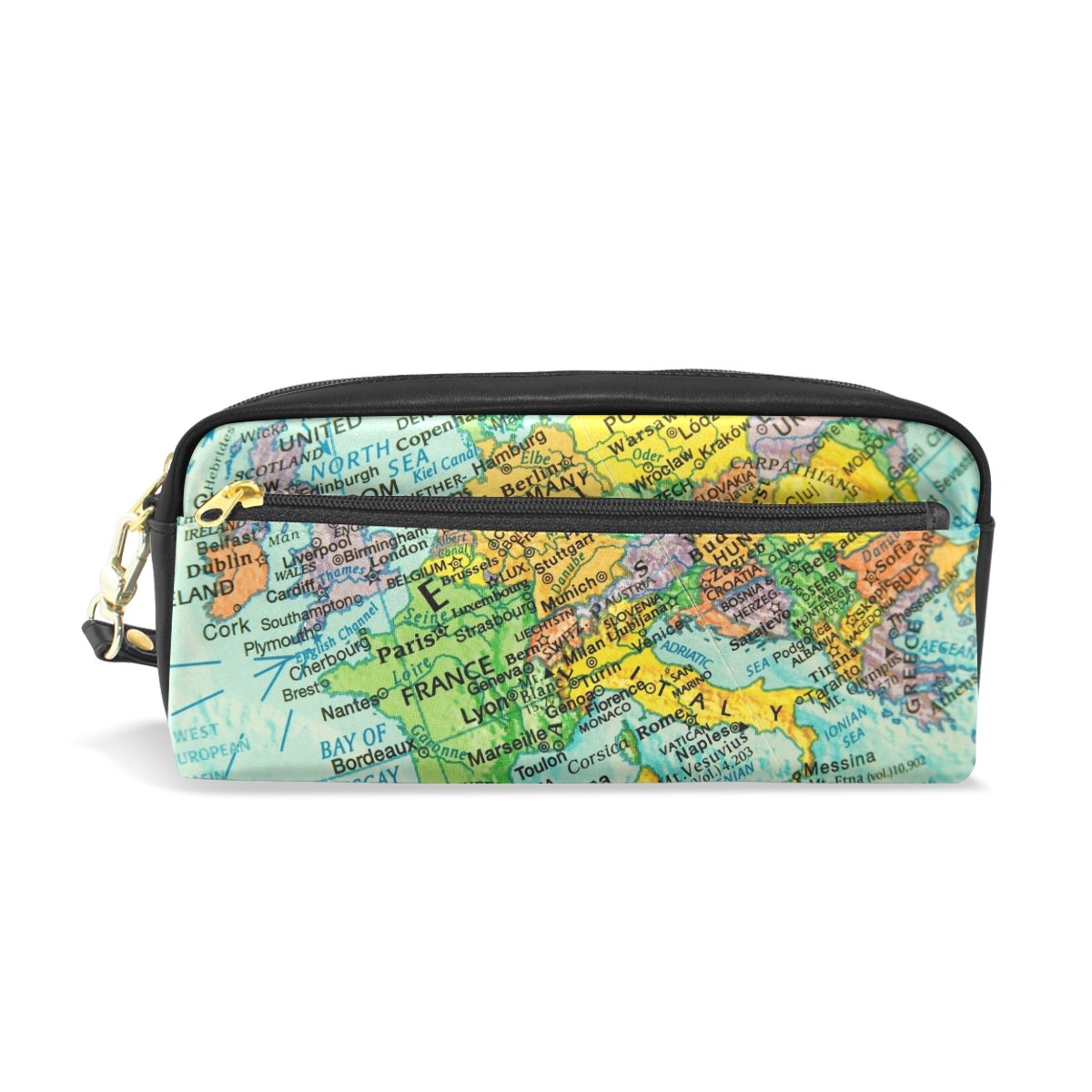 Amazon.com : My Daily Vintage Map Of Europe Pencil Case Pen ...